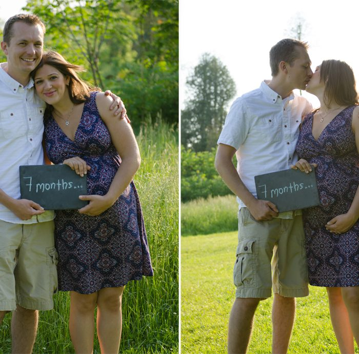 Karina & Jason | Ajax Maternity Photography | Durham Region