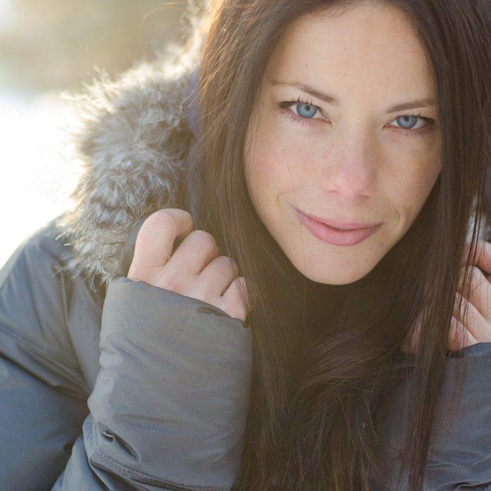 Snowy Portraits with Sarah | Ajax Portrait Photography