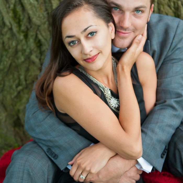 Samantha + Mark | Kew Gardens Engagement Photography Toronto