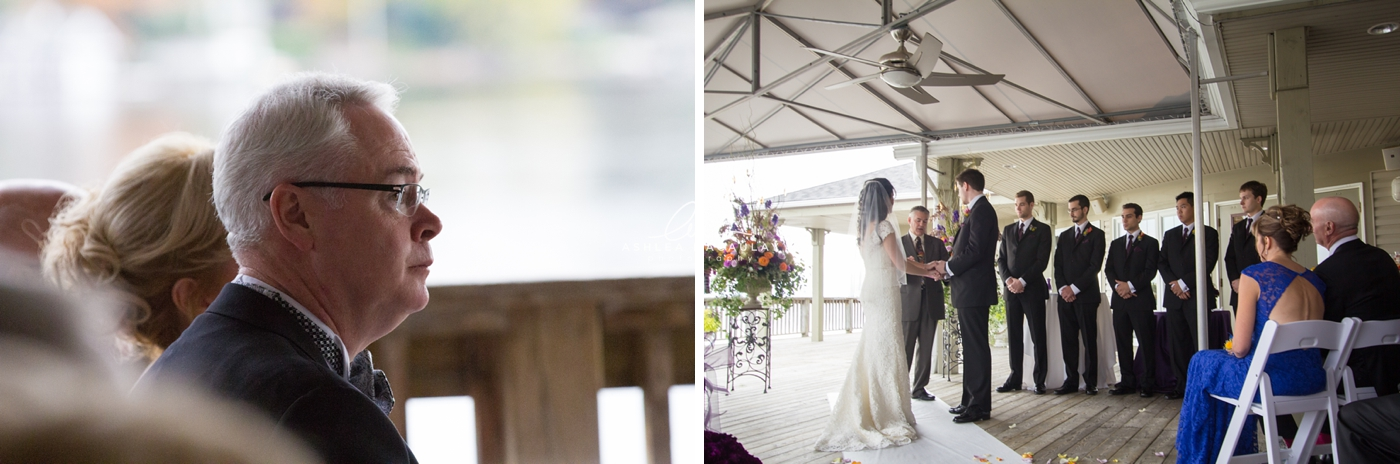 Fall Muskoka Wedding