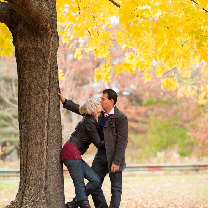 Jenna + Hugo | High Park Toronto Engagement Photography