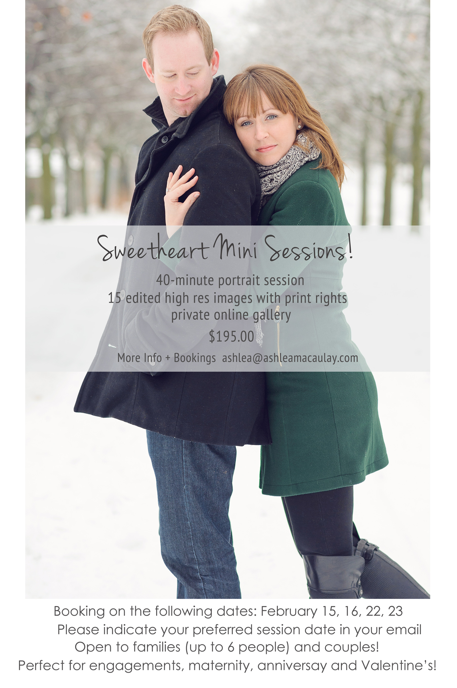 Durham Region Photography Mini Sessions