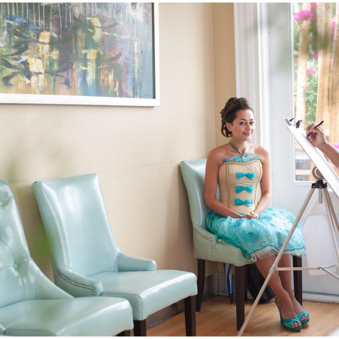 Marie Antoinette Bridal Shower | Durham Region Wedding Photographer