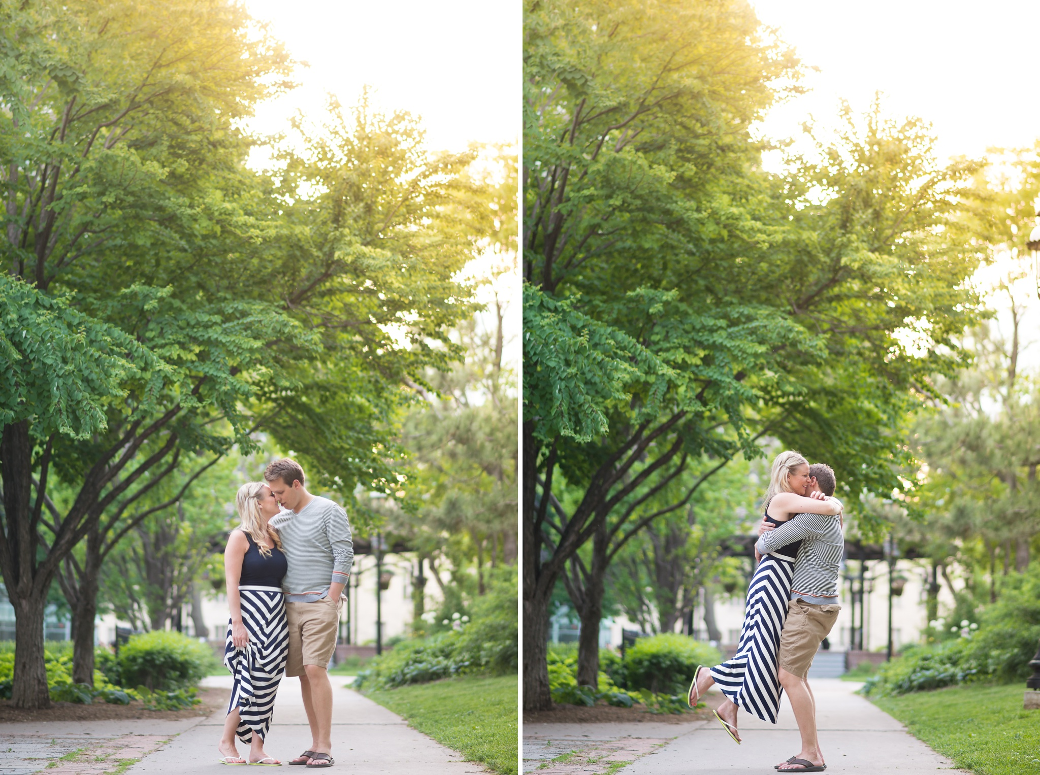 St James Park Toronto Engagement