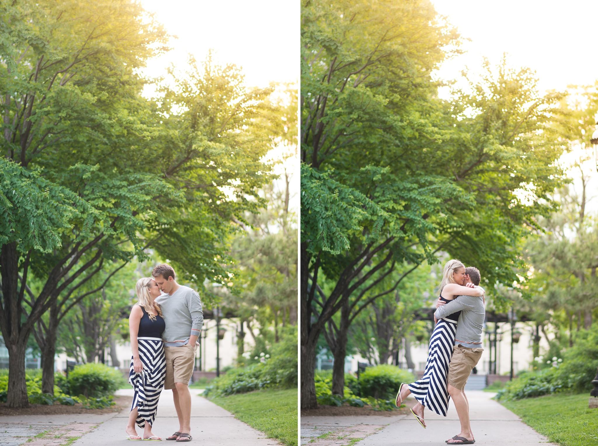 St James Park Toronto Engagement