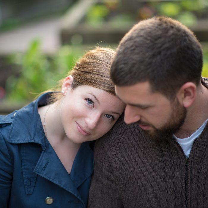 Allison + Matt | Milton Engagement Photography