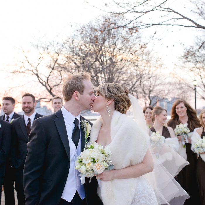 Catherine + Daniel | Palais Royale Winter Wedding | Toronto