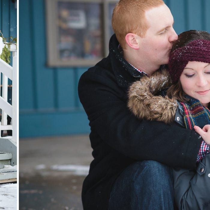 Whitevale Engagement Durham Region | Julia & Derek