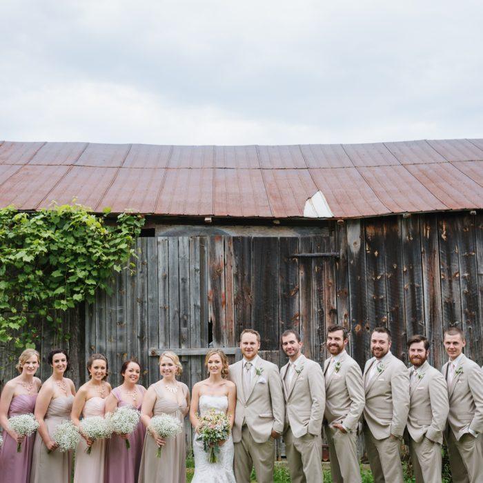 Grafton Backyard Wedding | Cobourg Wedding Photographer J&R