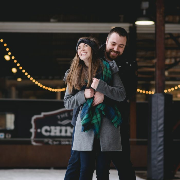 Evergreen Brickworks Engagement | Alex + Justin