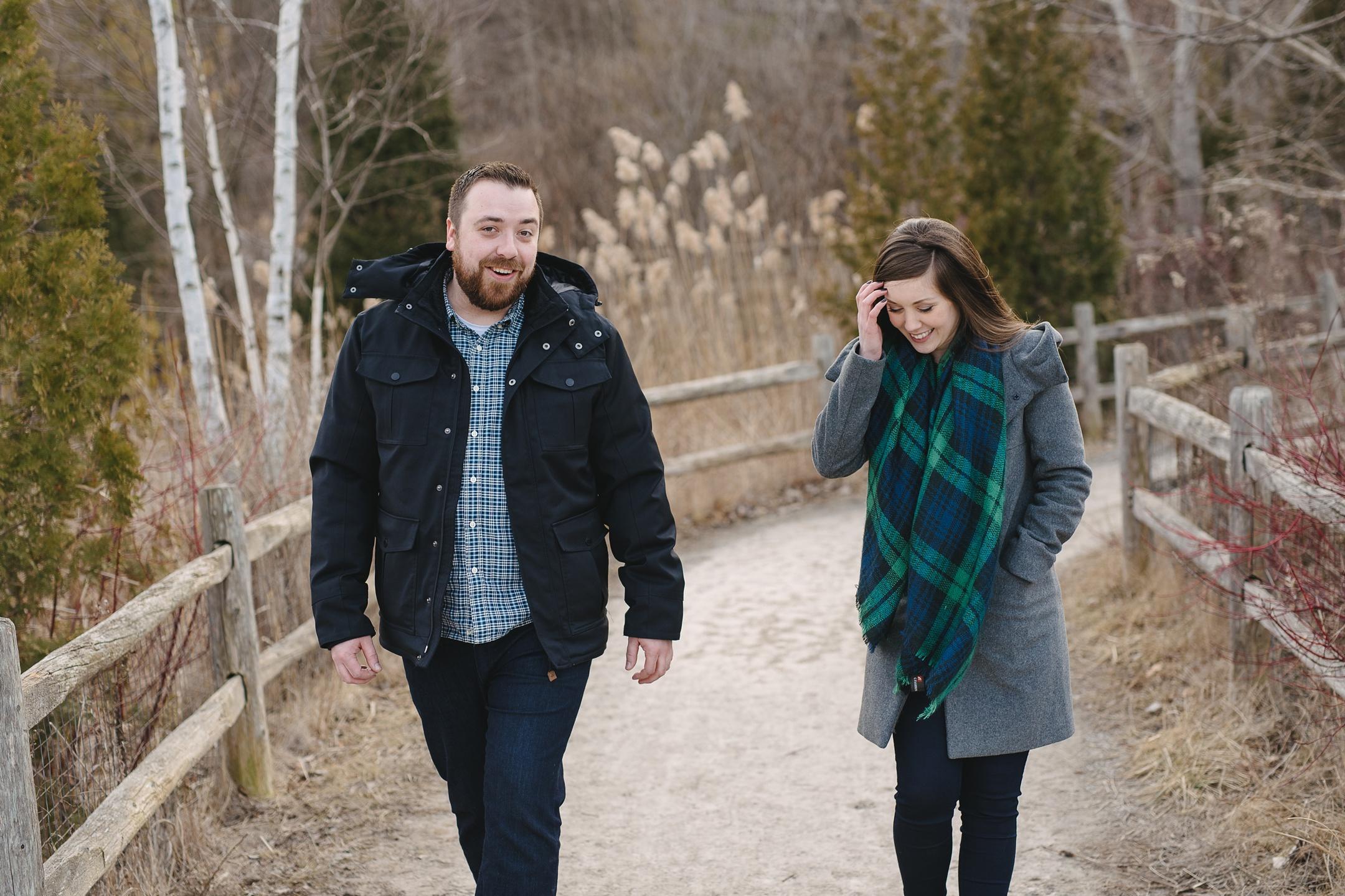 winter engagement toronto