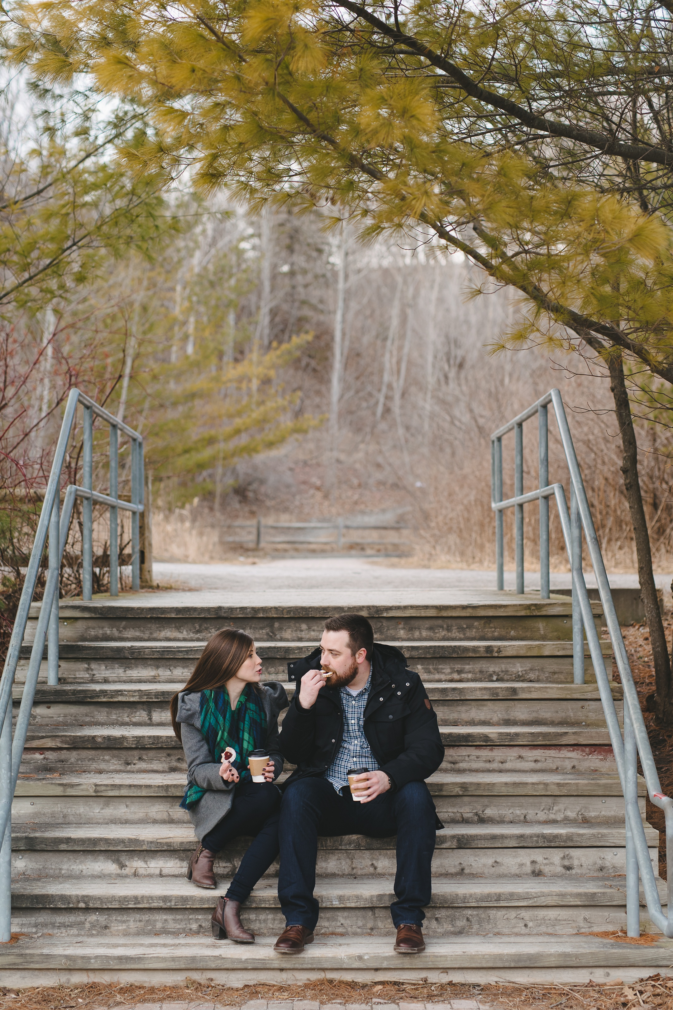 winter engagement toronto