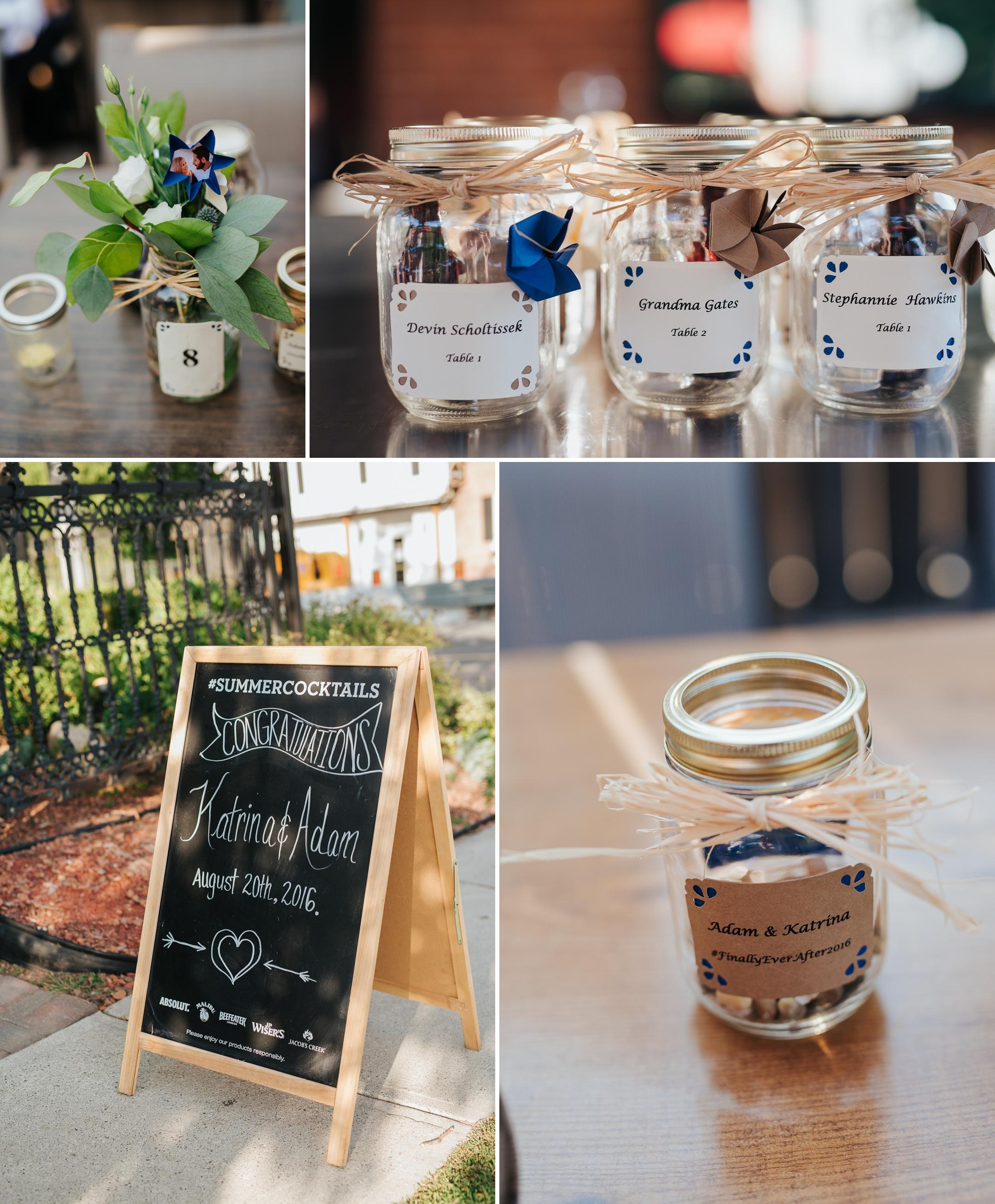 Harvest Brooklin Wedding Details