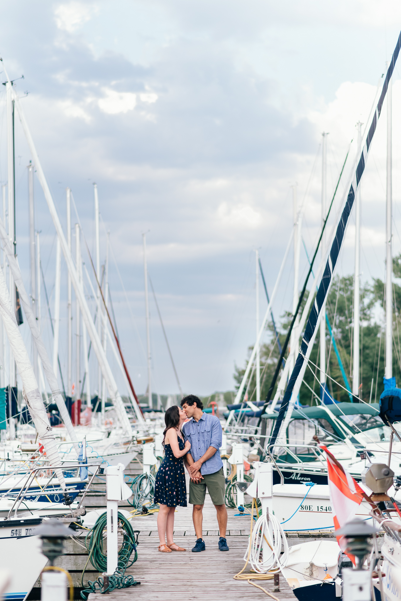 Toronto Island Engagement Photos
