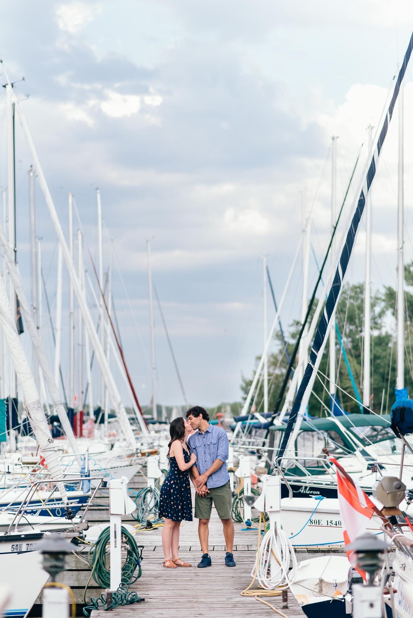 Toronto Island Engagement Photos