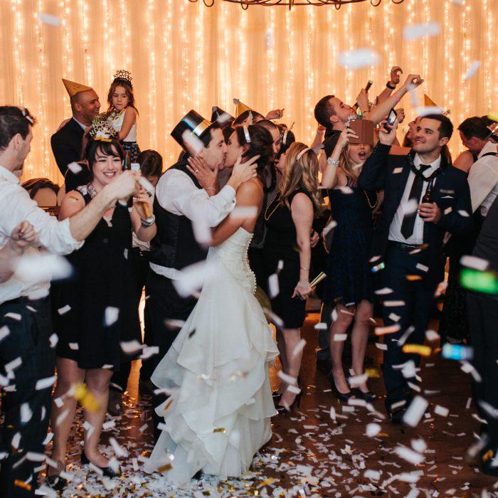 New Years Eve Wedding | Mel + Fred