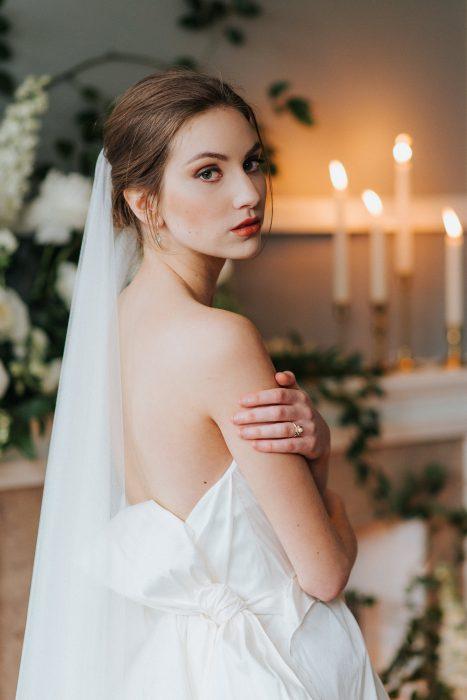 Harding Waterfront Estate bride portrait