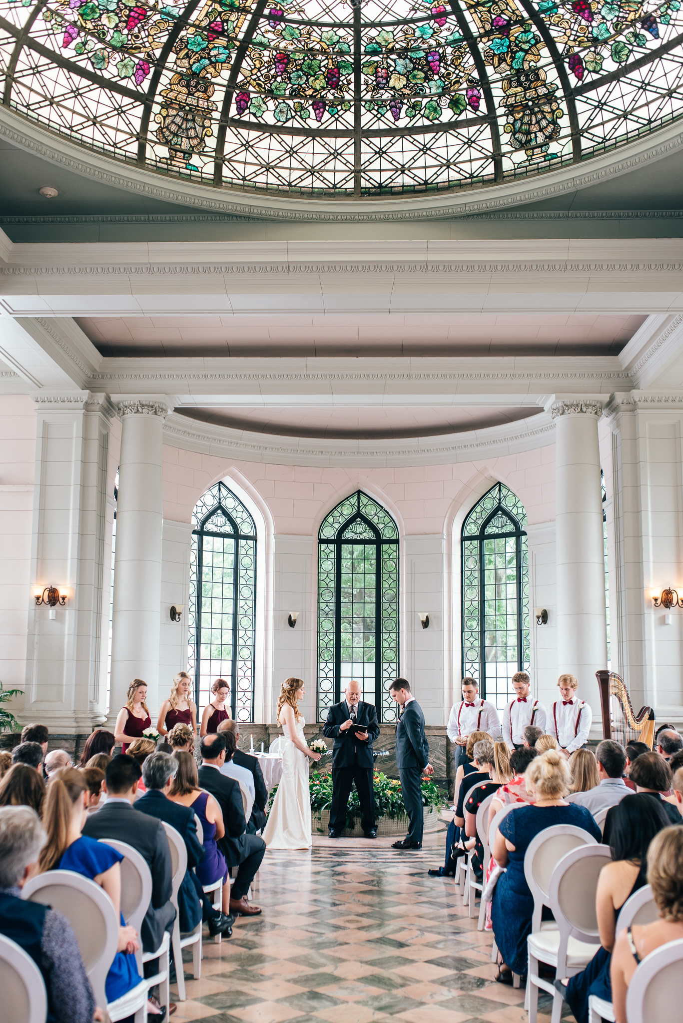Casa Loma wedding ceremony