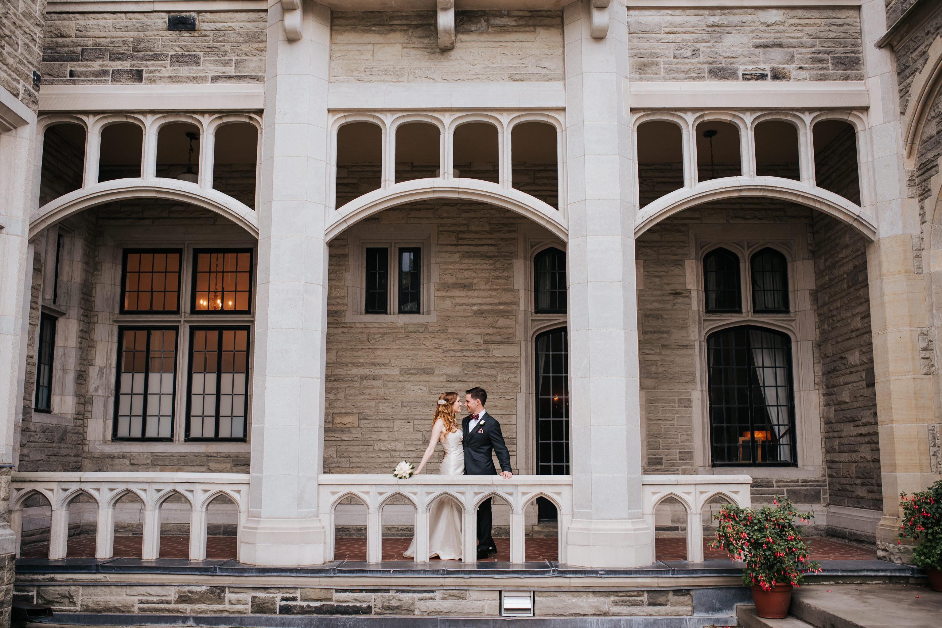 Casa Loma Wedding Toronto Ontario