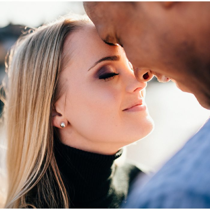 Scarborough Bluffs Engagement | L & S