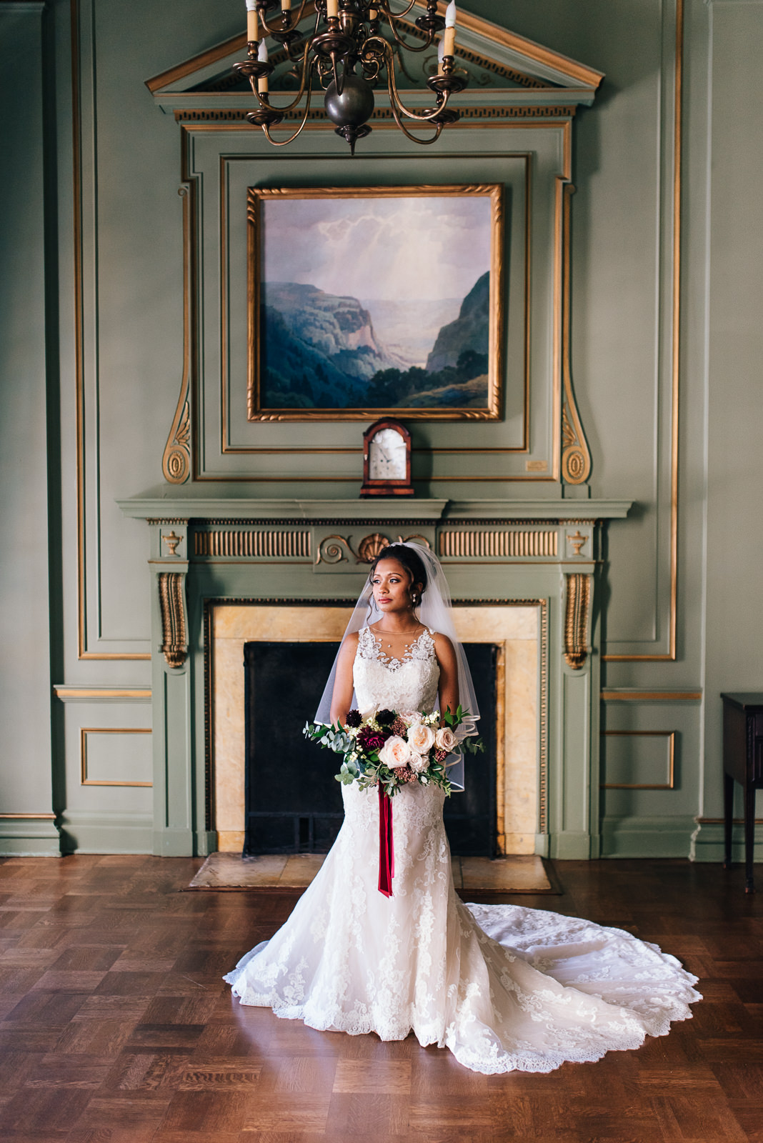 University Club of Toronto Wedding, Bride Portrait