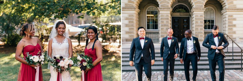 Osgoode Hall Wedding Party Photos