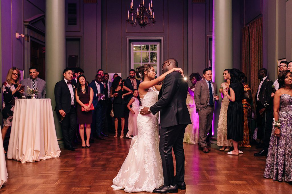 University Club of Toronto Wedding