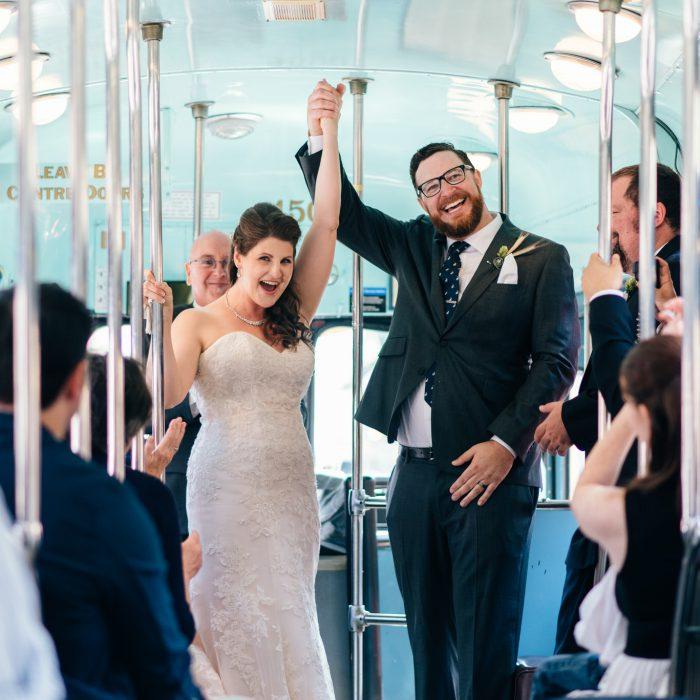 Toronto Streetcar Wedding | Adrienne and Gavin