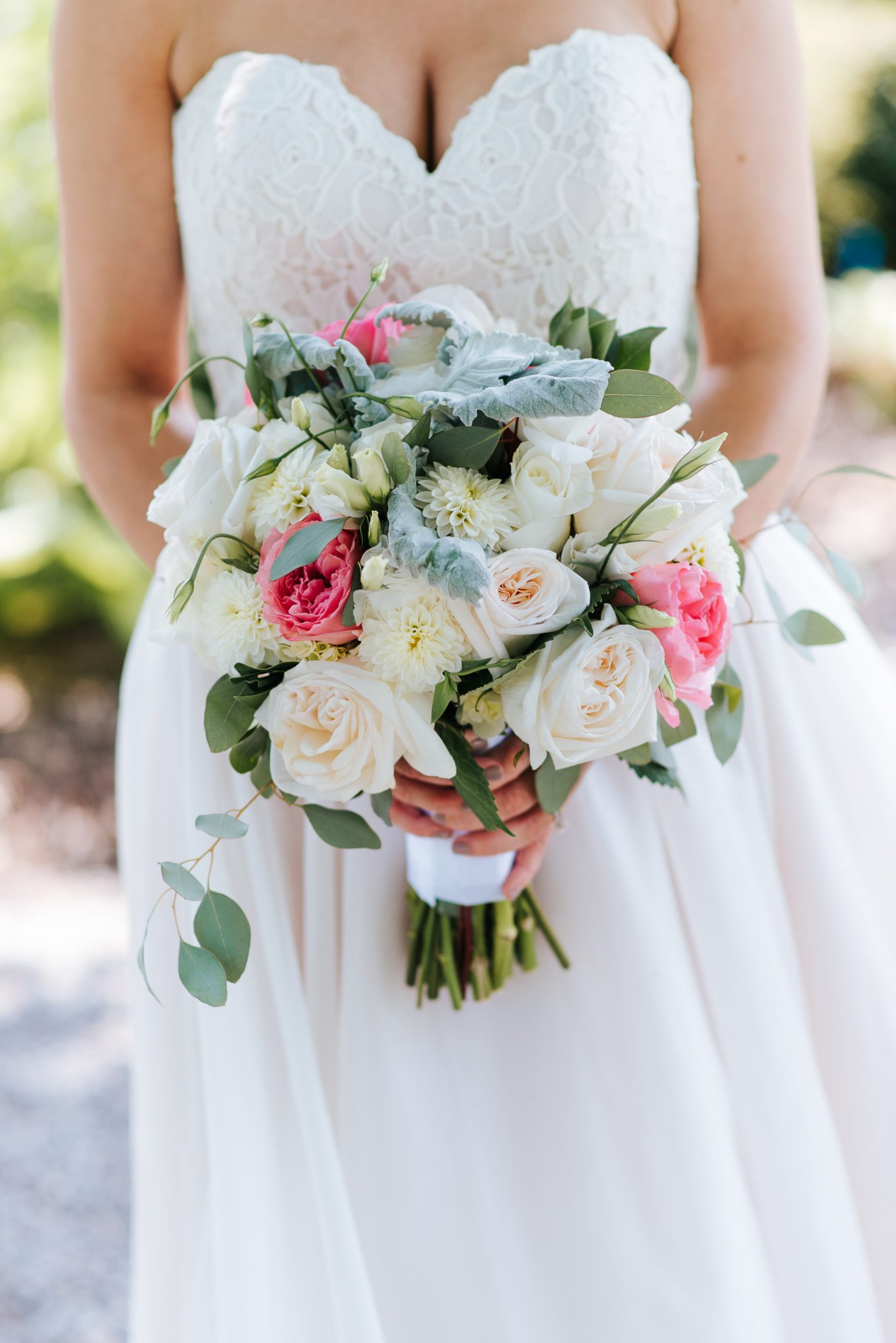 Bloomfield Gardens Wedding - bridal bouquet