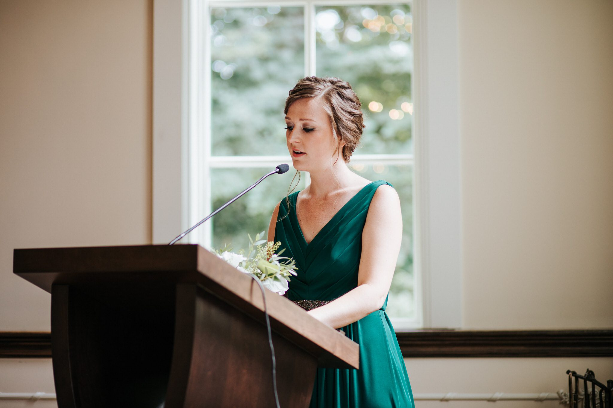 Ancaster Mill Wedding - speeches
