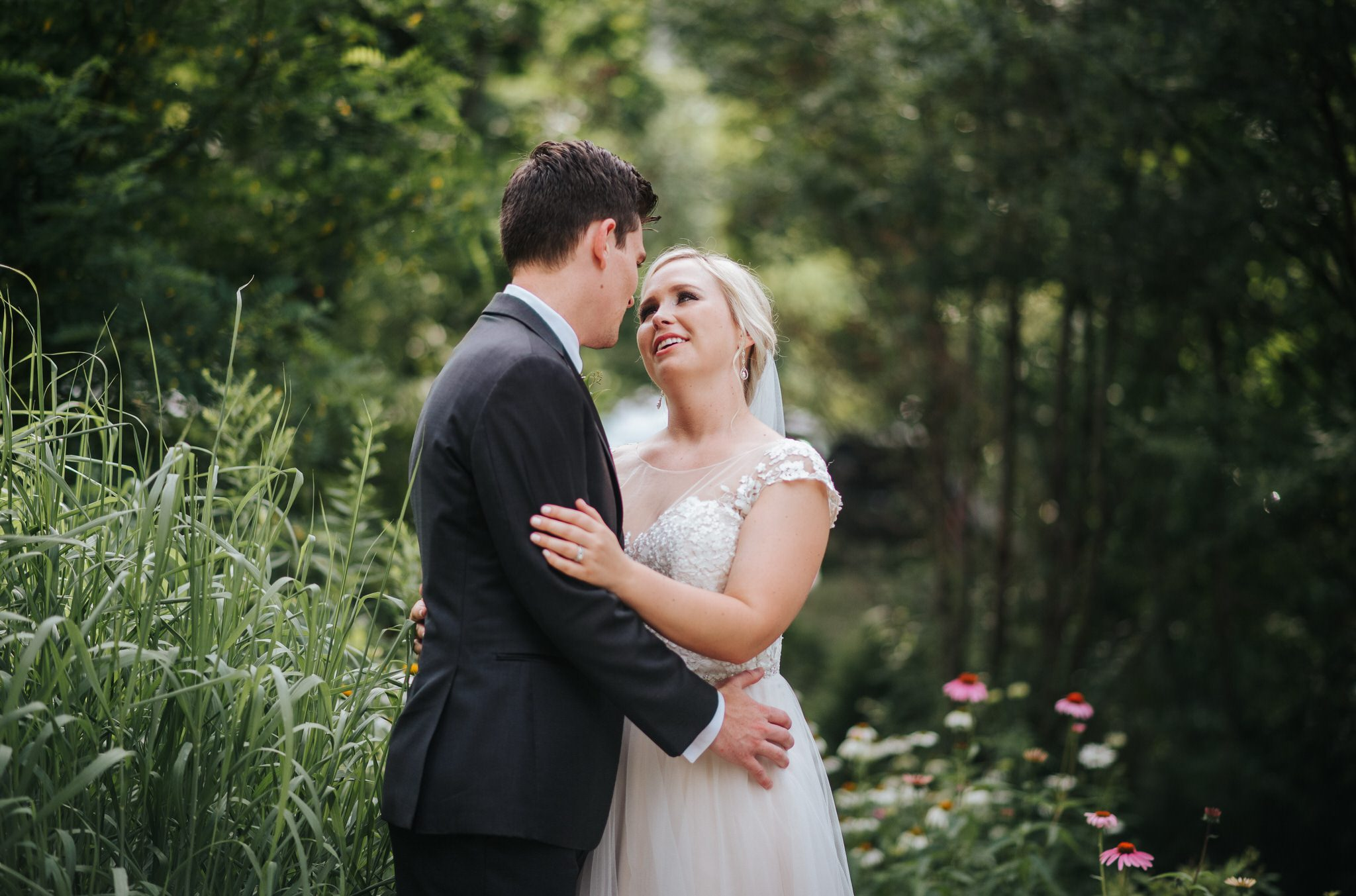 Ancaster Mill Wedding - portraits in the forest