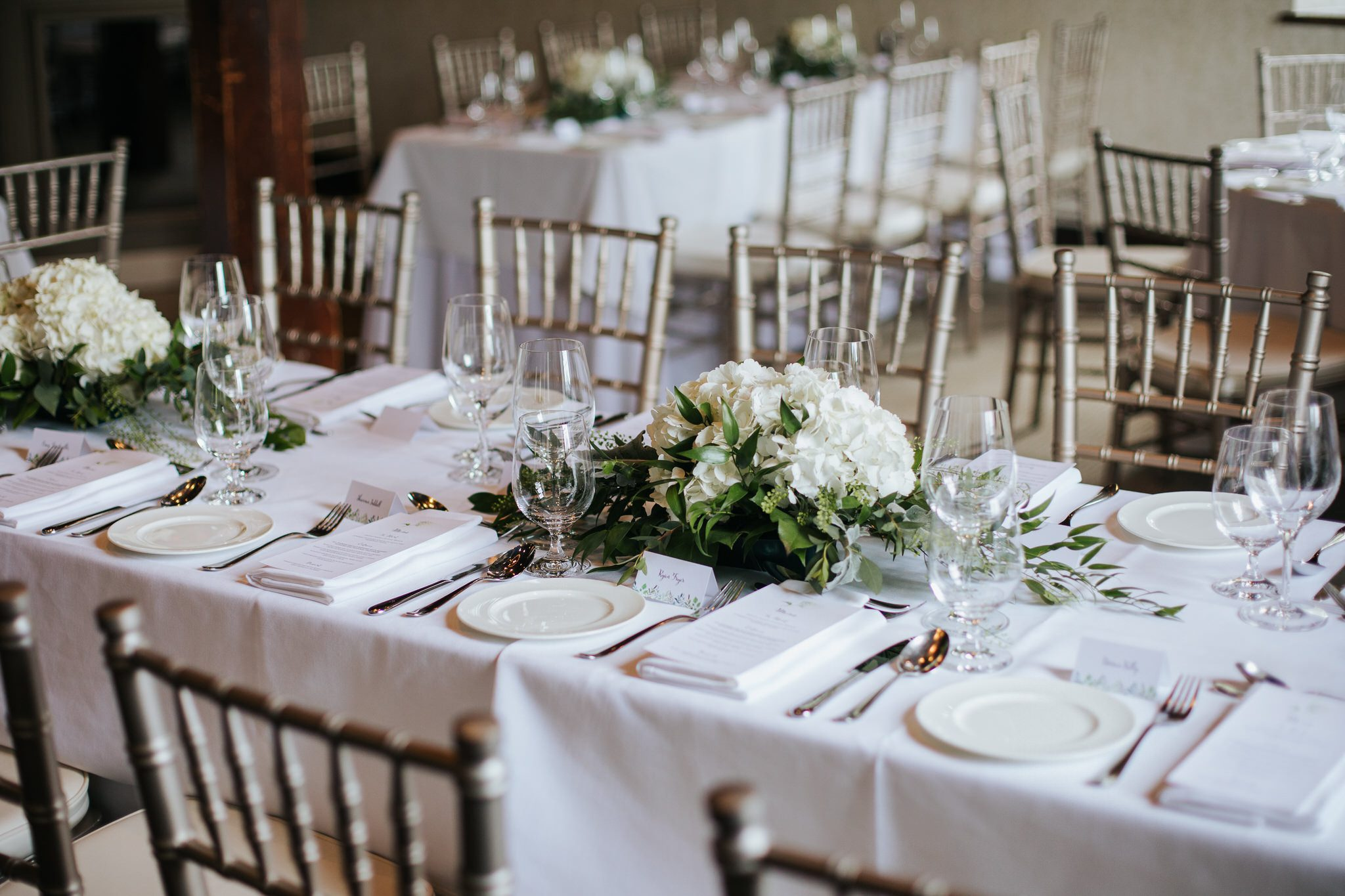 Ancaster Mill Wedding - reception table details