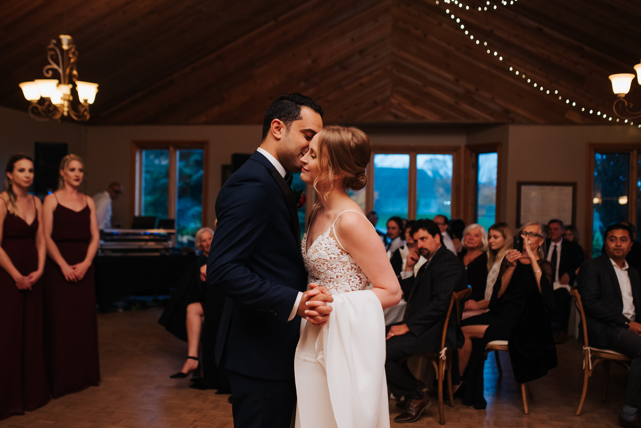 Waterstone Estate & Farms Wedding - first dance